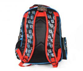 Školní batoh 3D obrázek CRAZY CAR DUBLE 2 E-batoh