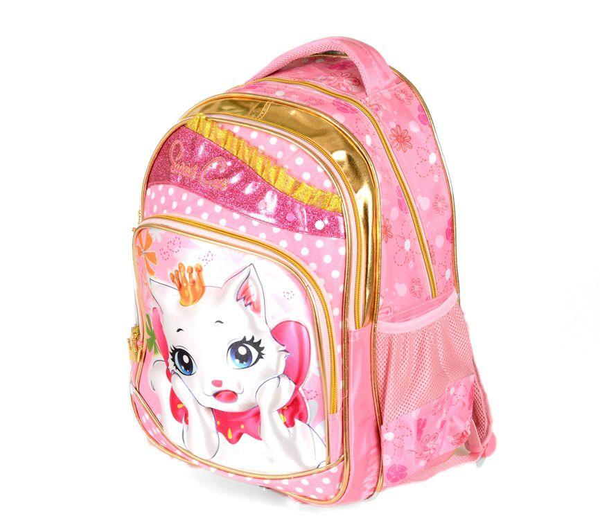 Školní batoh 3D obrázek SWEET CAT E-batoh
