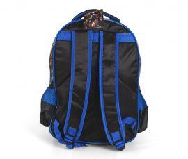 Školní batoh 3D obrázek CRAZY CAR BLUE E-batoh