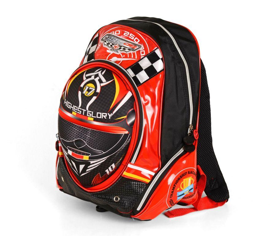 Školní batoh 3D obrázek HIGHEST GROKY RED E-batoh