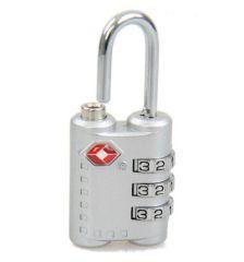 Visací kódový zámek TSA - fialová REAbags E-batoh