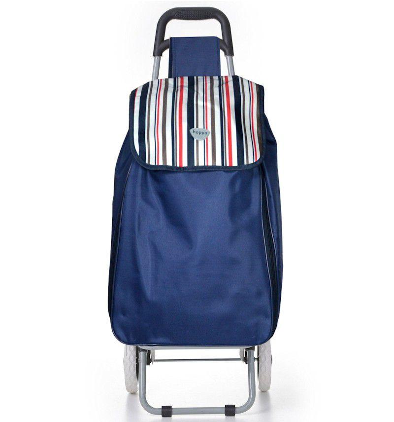 Nákupní taška na kolečkách HOPPA ST-90 - modrá