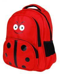 Dětský batoh L12001 červená beruška New Berry E-batoh