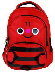 Dětský batoh L12001 červený čmelák NEW BERRY E-batoh