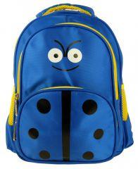Dětský batoh L12001 modro-žlutá beruška