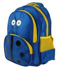 Dětský batoh L12001 modro-žlutá beruška New Berry E-batoh