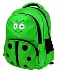 Dětský batoh L12001 zelená beruška New Berry E-batoh