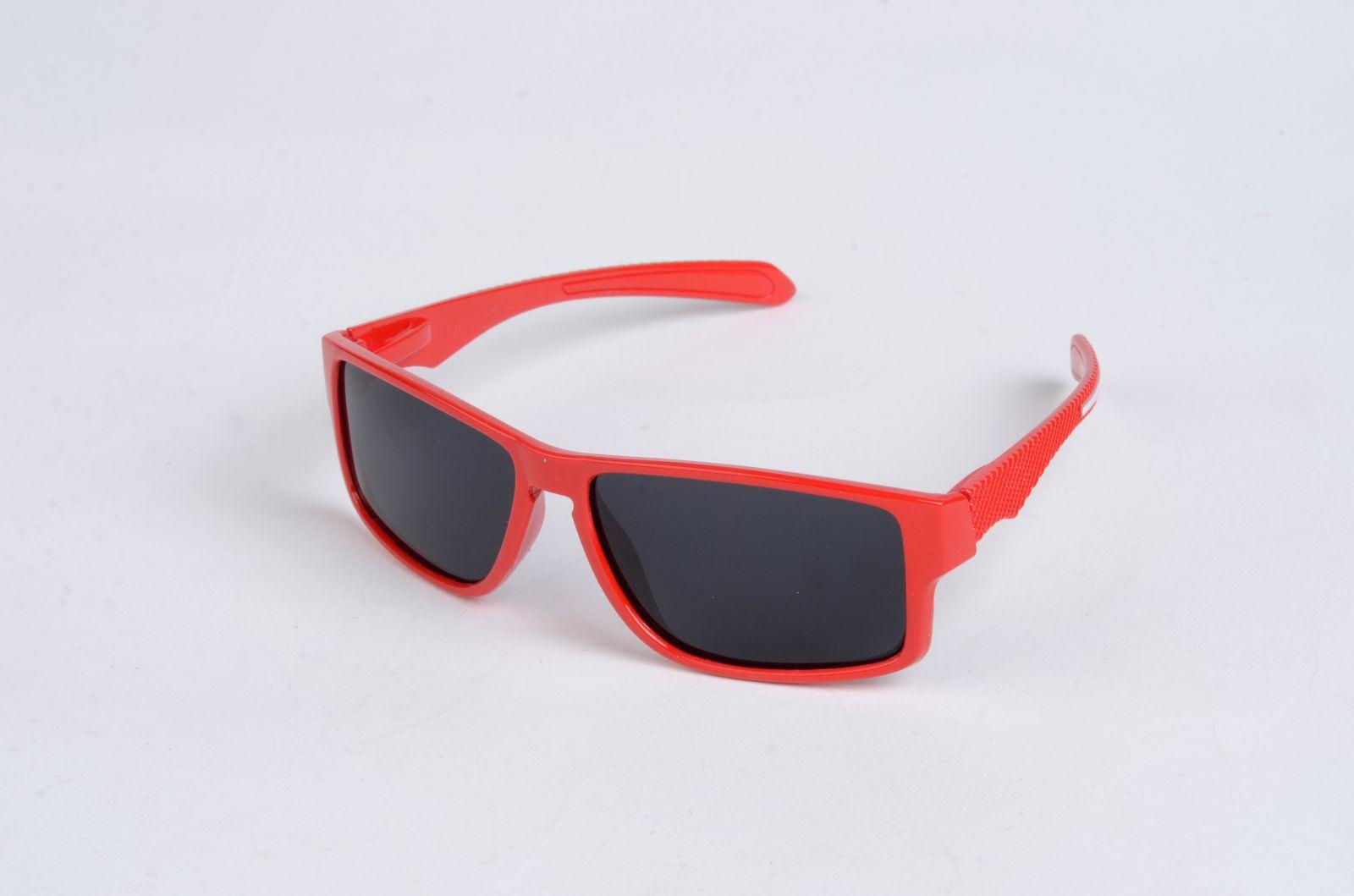 Polarizační DĚTSKÉ brýle červené P4486 E-batoh