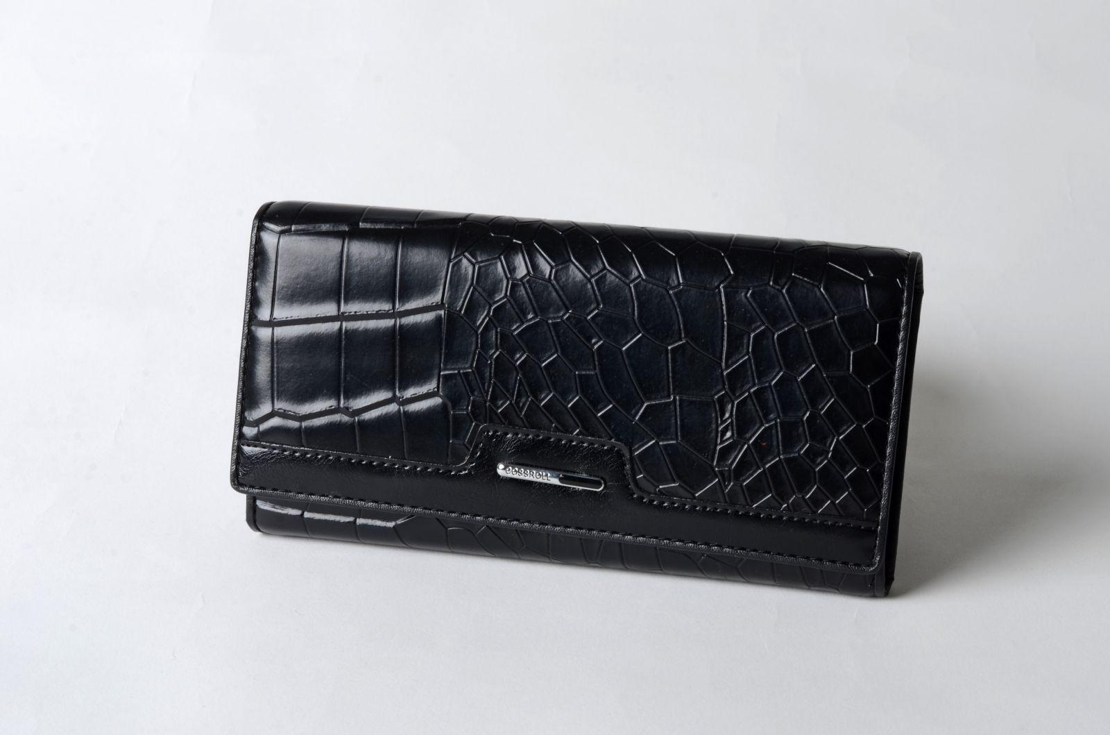 Dámská peněženka Cossroll černá BL A20-5242F2