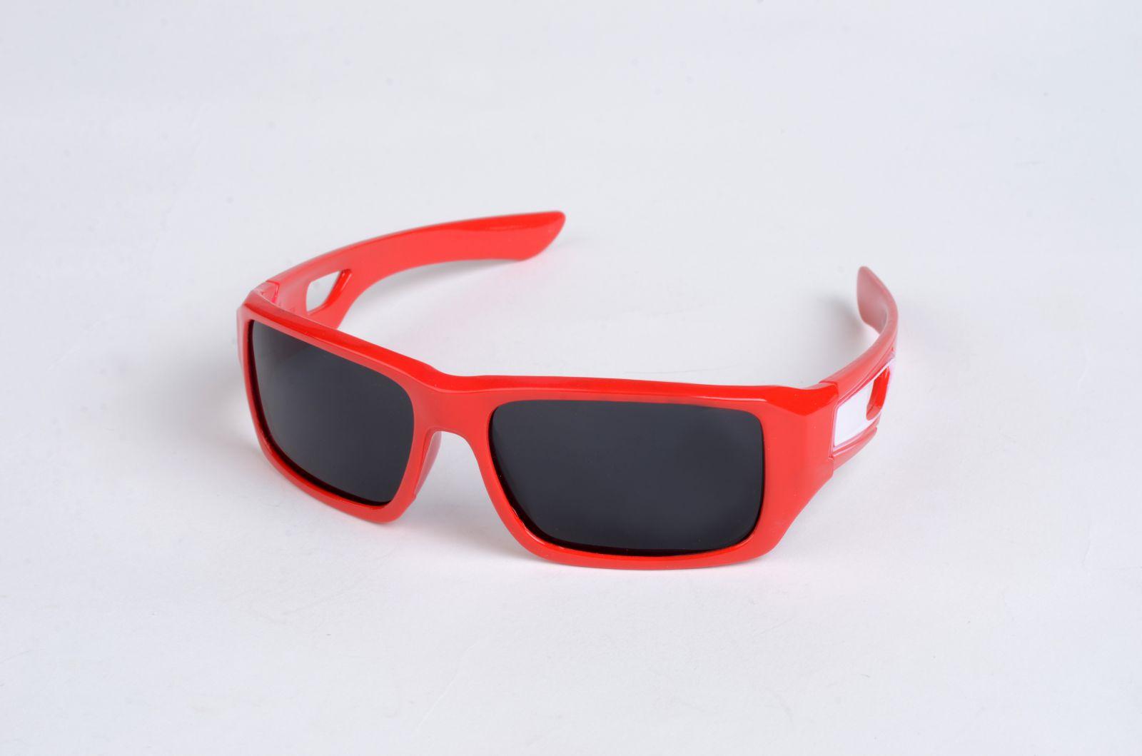 Polarizační DĚTSKÉ brýle červené P4484 E-batoh