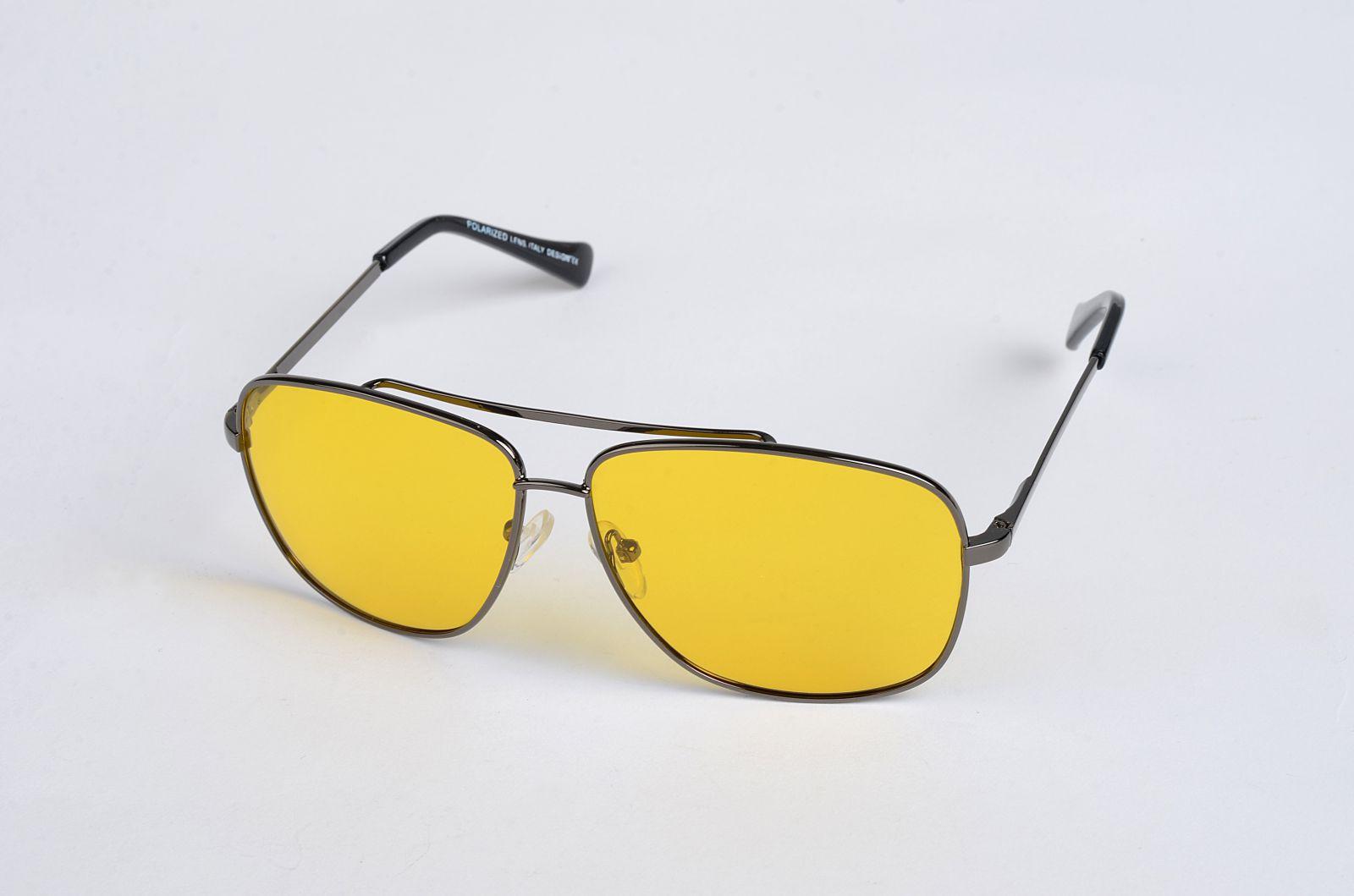 polarizační brýle do mlhy 1105 se žlutou čočkou