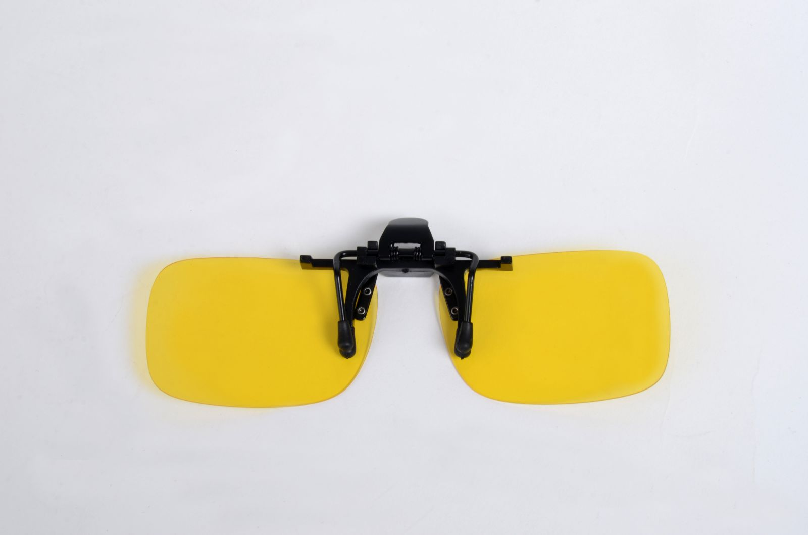 Polarizační KLIP S NA BRÝLE se žlutou  čočkou  + pouzdro