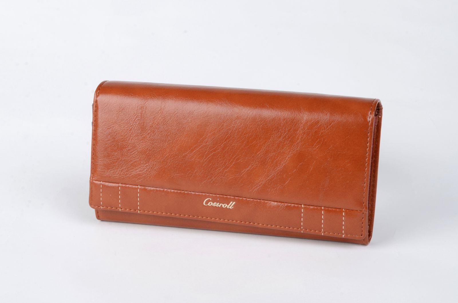 Dámská peněženka Cossroll hnědá CO5242F E-batoh
