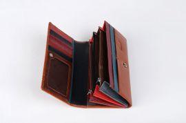 Dámská peněženka Cossroll hnědá A03-5242F E-batoh