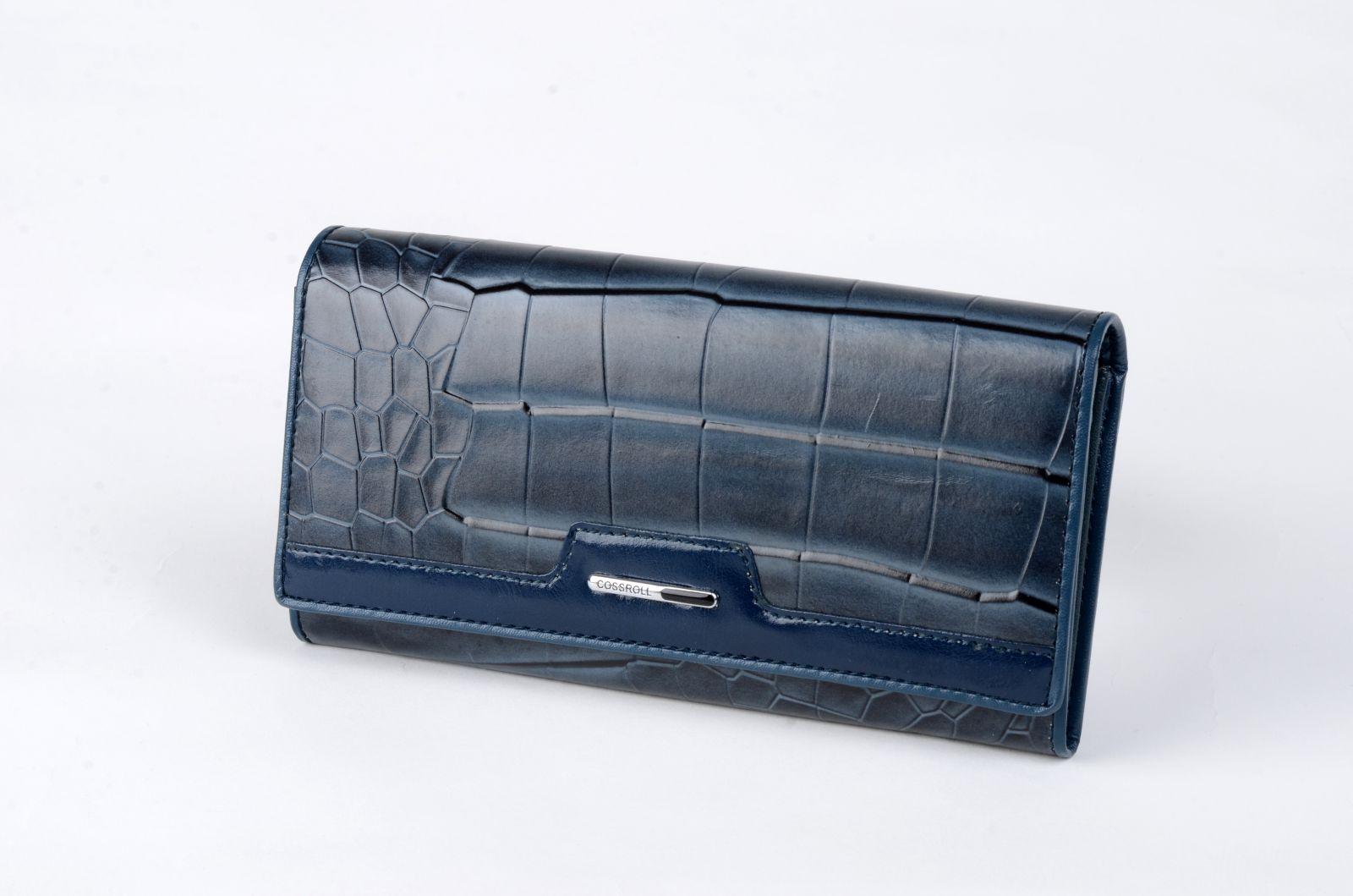 Dámská peněženka Cossroll šedomodrá SE A20-5242F