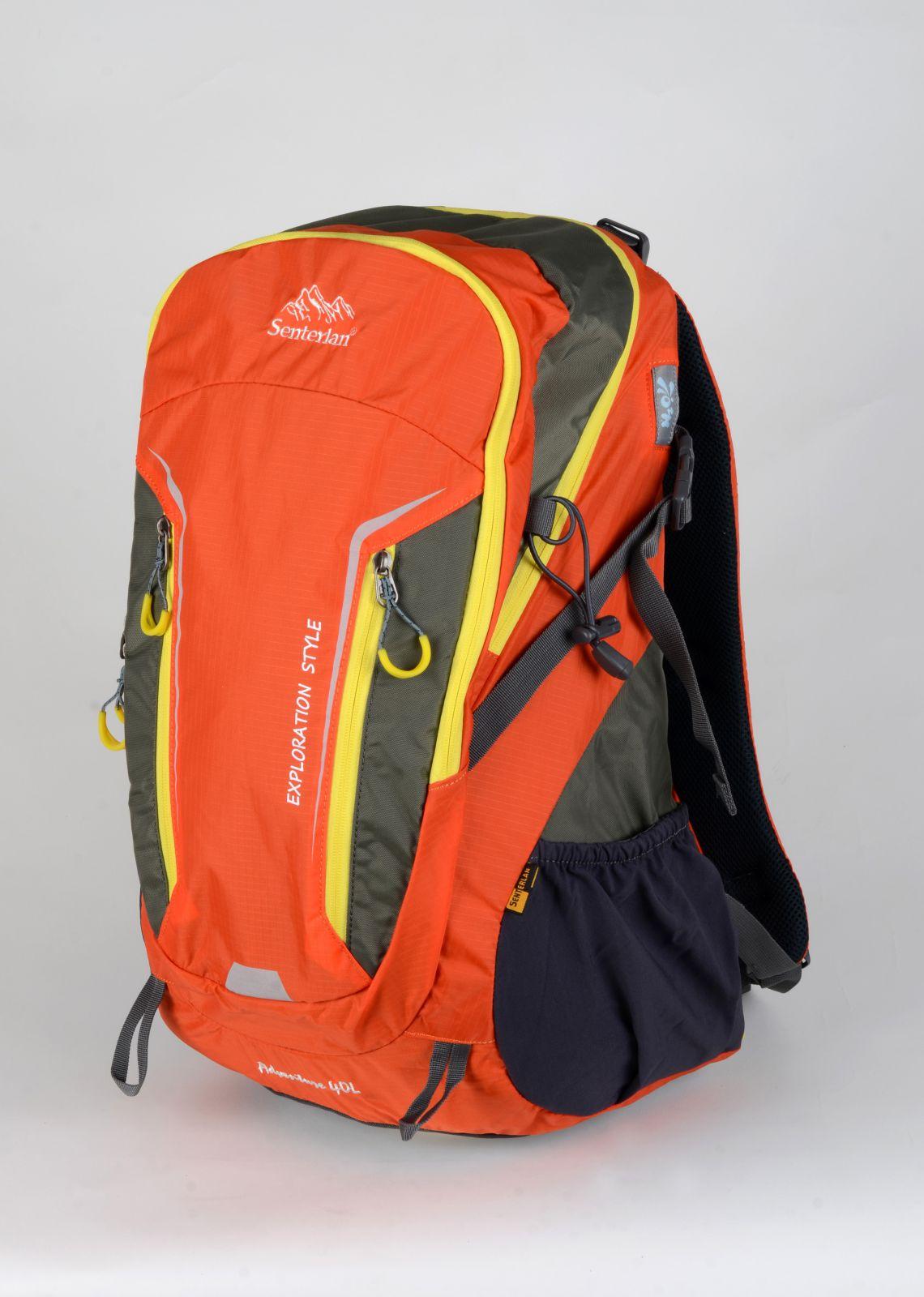 OUTDOOROVÝ BATOH SENTERLAN oranžovo-žlutý S2410