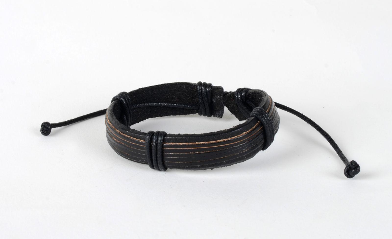 Kožený náramek unisex styl 167 E-batoh